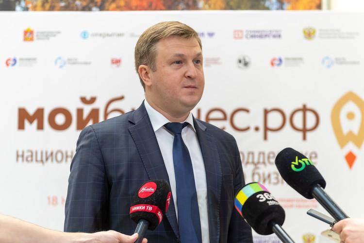 Заместитель министра экономического развития России Вадим Живулин.