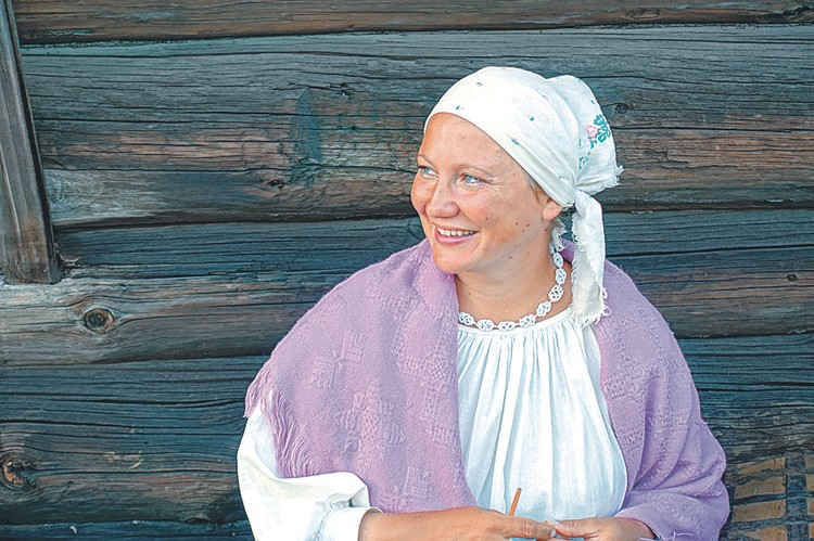 Приз зрительских симпатий - «Девушка с острова Кижи». Александр Белоусов. Краснодар.
