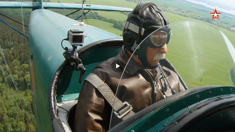 Кадр из фильма «Незабудки. Бессмертный авиаполк».