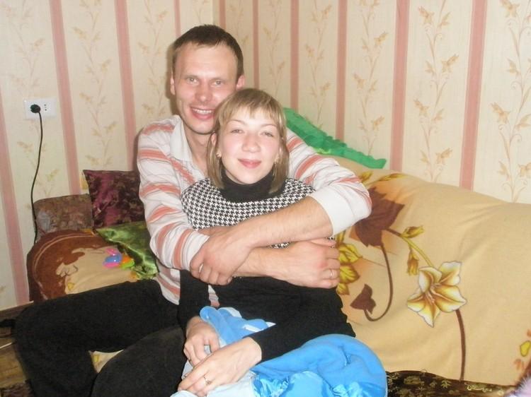 Ирина Банникова с мужем до трагедии. Фото из семейного архива