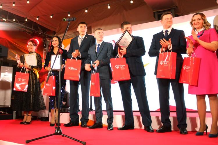 Участники номинации «От сердца к сердцу», которую вручают за волонтерскую деятельность