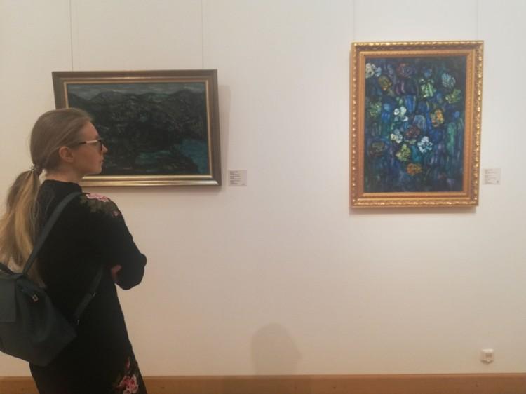 Персональная выставка художника на постсоветском пространстве проходит впервые, ранее он выставлялся в Европе и Америке