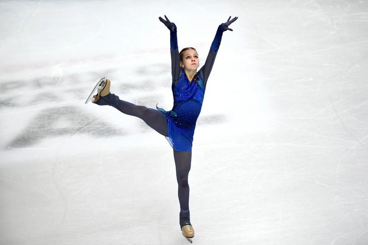 Александра Трусова стала третьей.