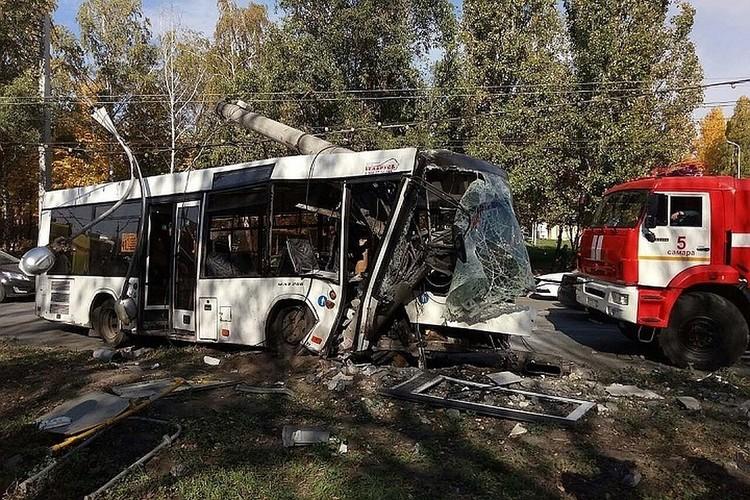 Жуткое ДТП с автобусом в Самаре произошло 6 октября