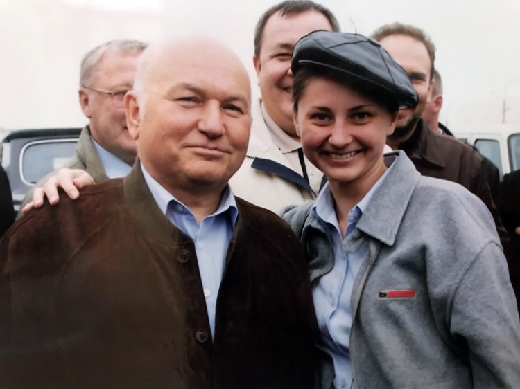 Юрий Лужков и Светлана Волкова