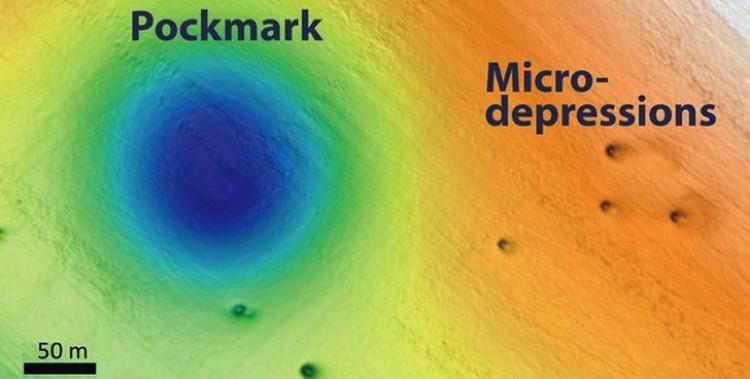 Рядом с большими дырами - оспинами - располагаются маленькие - микродепрессии.