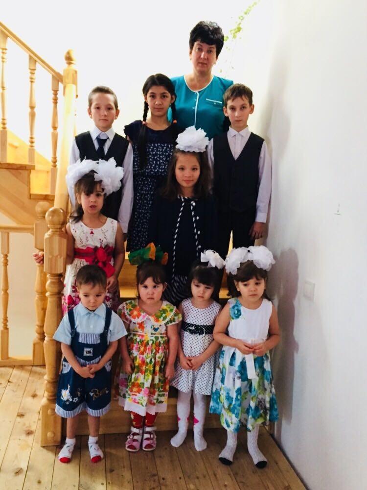 Ольга вместе со своими детьми. Фото: личный архив.