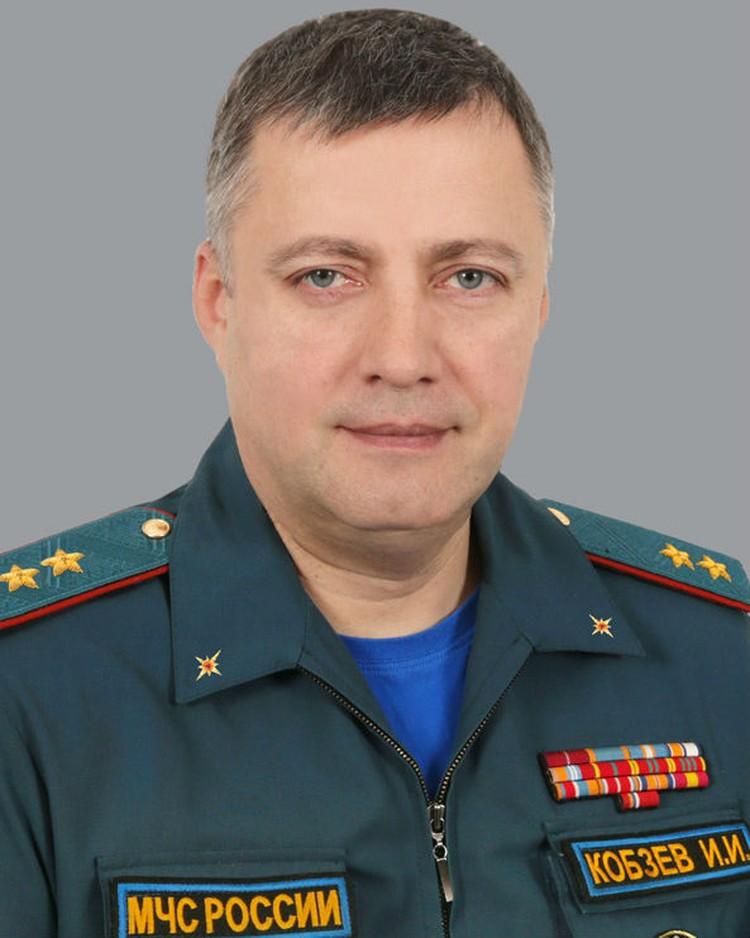 Новая фотография Игоря Кобзева. Фото: ГУ МЧС России.