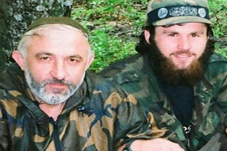 Зелимхан Хангошвили с Асланом Масхадовым