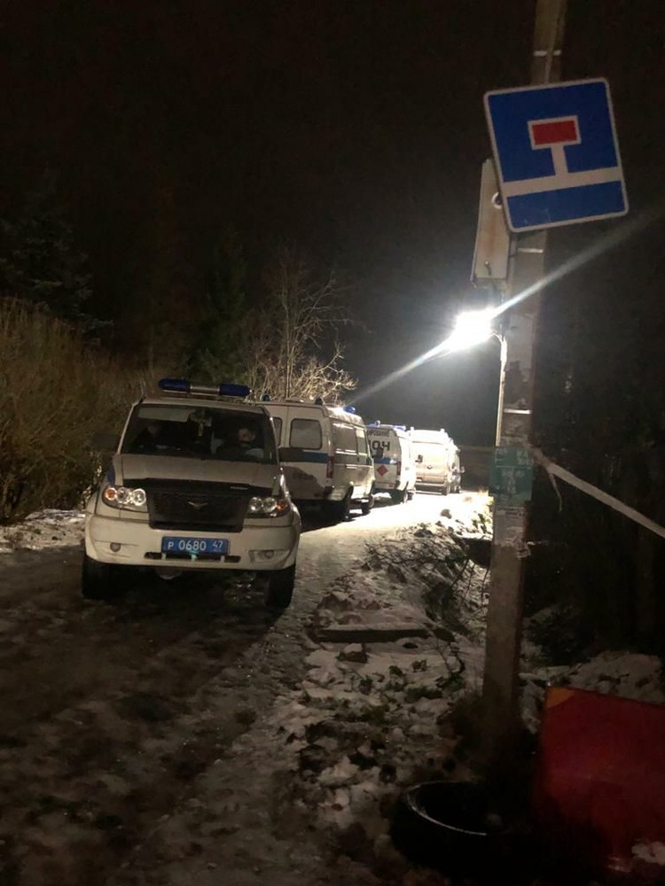 В деревне проходит спецоперация Фото: предоставлено очевидцем