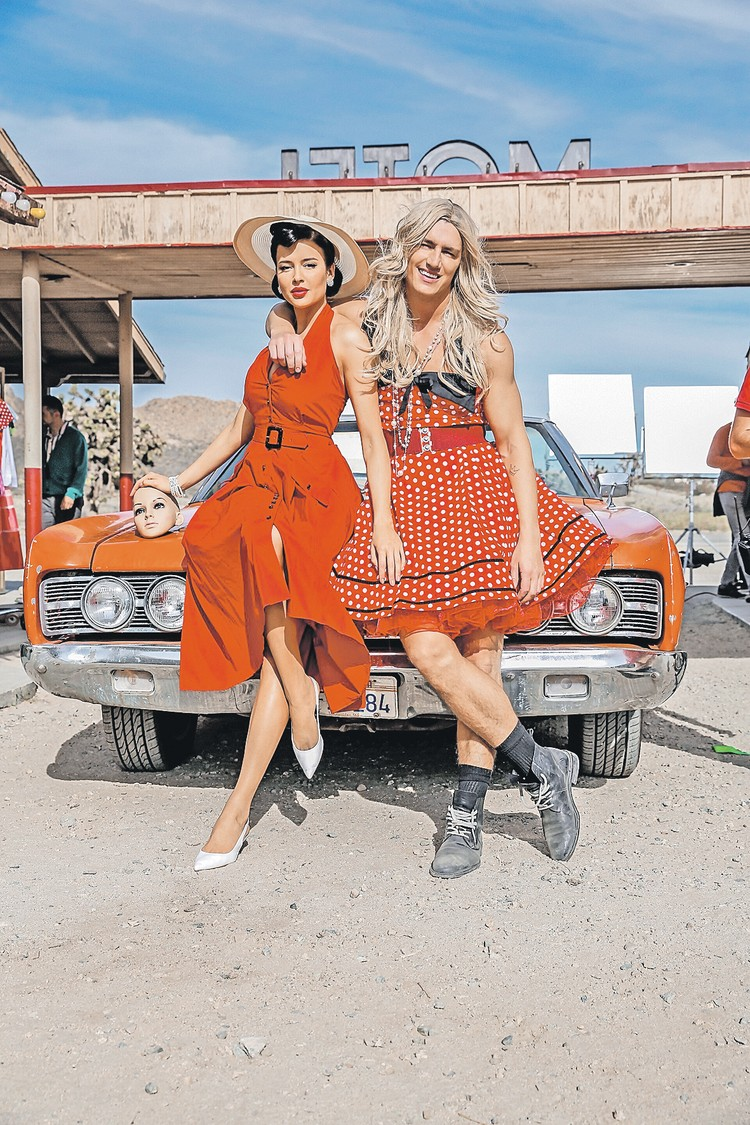 В таком неожиданном образе Алексей Воробьев предстал в своем клипе на песню Never Be Friends. Фото: Пресс-служба Алексея ВОРОБЬЕВА