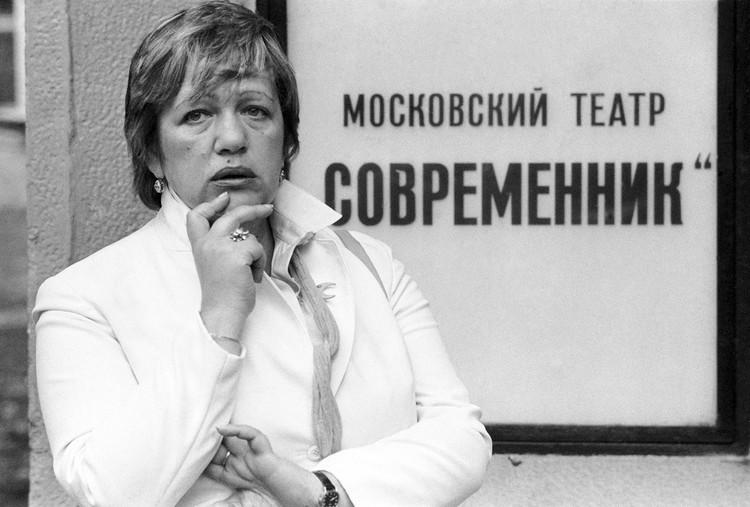 Галина Волчек дважды хотела покинуть театр