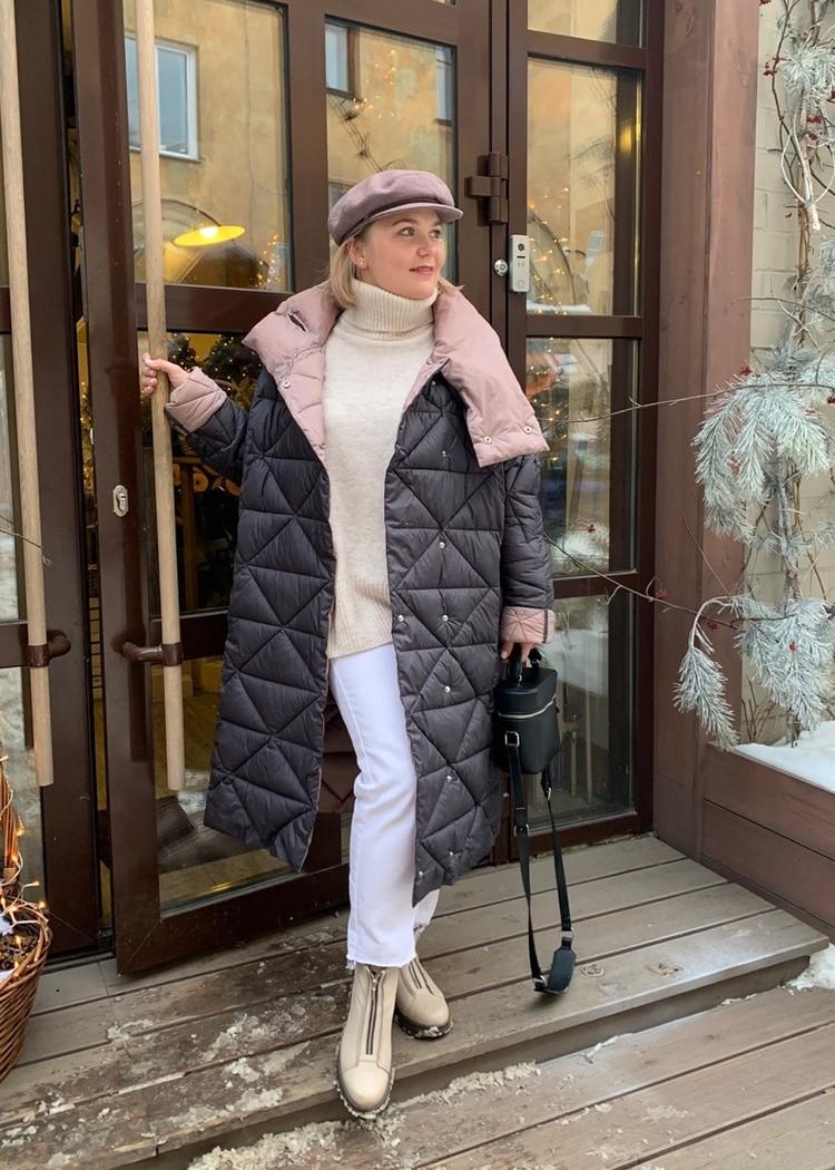 Модный зимний образ от стилиста Юлии Зайцевой.