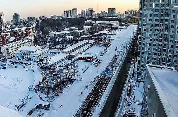 21 декабря движение транспорта на участке от Куйбышева до Комсомольского проспекта уже открыли. Фото: пресс-служба администрации Перми.
