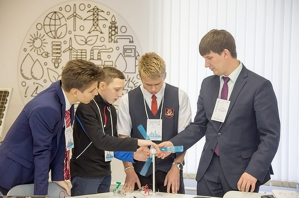 Детский технопарк «Кванториум-42» за 73 миллиона рублей открылся в Новокузнецке. ФОТО: пресс-служба АКО