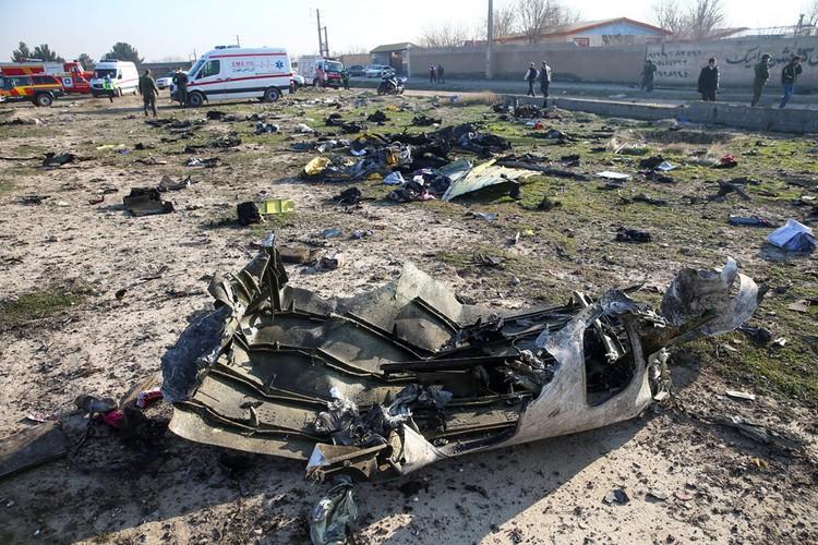 «Боинг»-737 8 направлялся из аэропорта имени имама Хомейни в Киев.