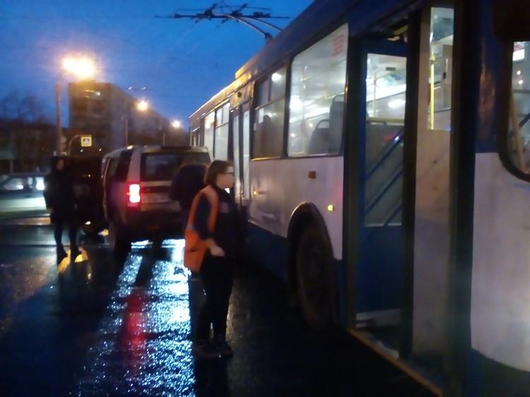 О пострадавших в ДТП не сообщается Фото: vk.com/spb_today
