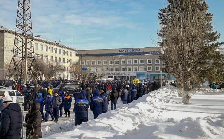 Часть сотрудников распустили по домам. Фото: соцсети