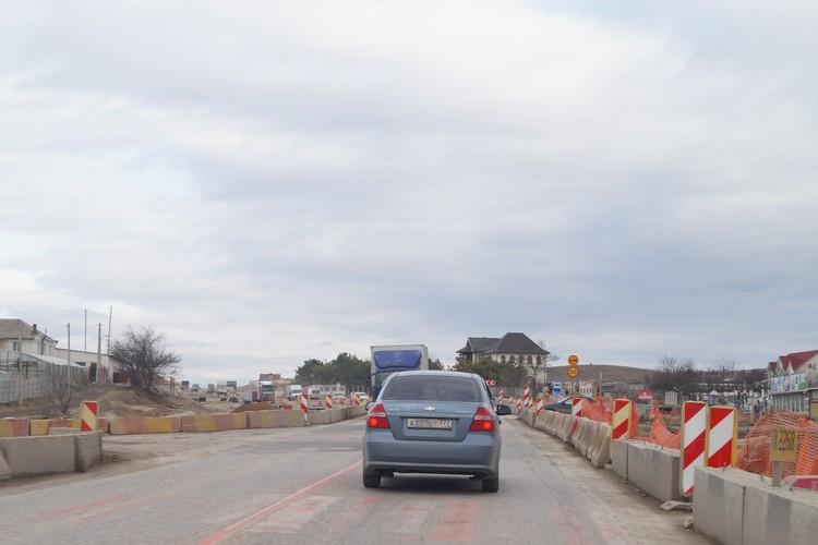 В Крыму - бум дорожного строительства