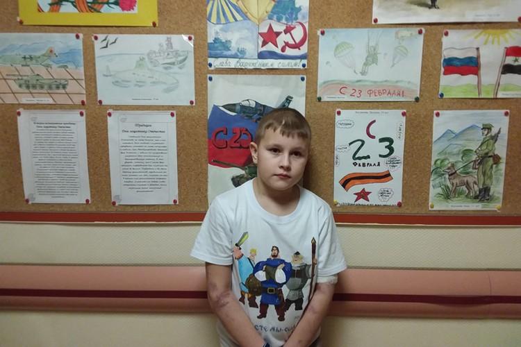 Из-за бюрократии 10-летний Егор Вотинов пропустил реабилитацию