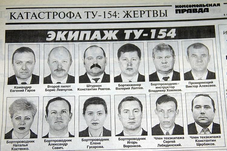 4 октября 2001 года, украинские ПВО по ошибке сбили над Черным морем Ту-154 авиакомпании «Сибирь», летевший из Тель-Авива в Новосибирск