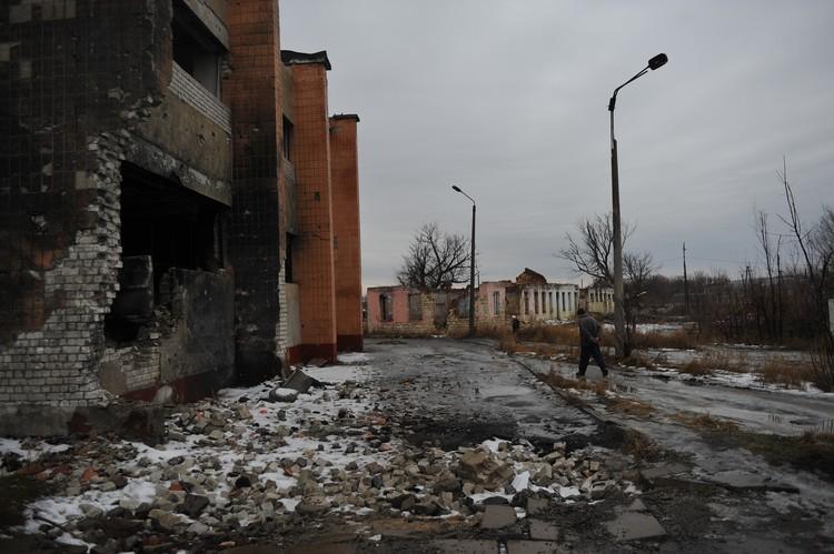 Украинская армия утюжила город не переставая