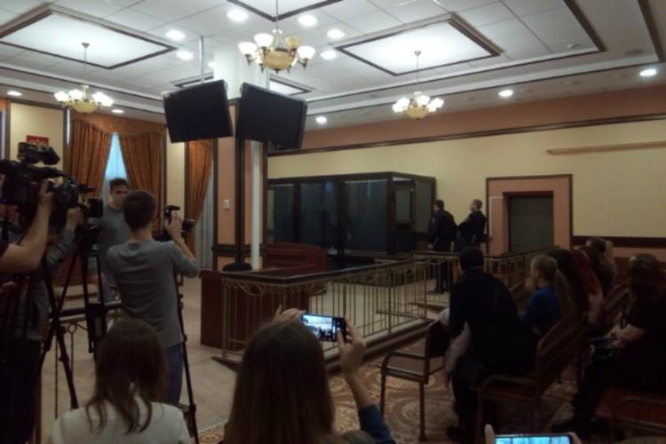 На оглашение приговора не пришли ни мать Пленкиной, ни ее адвокат.