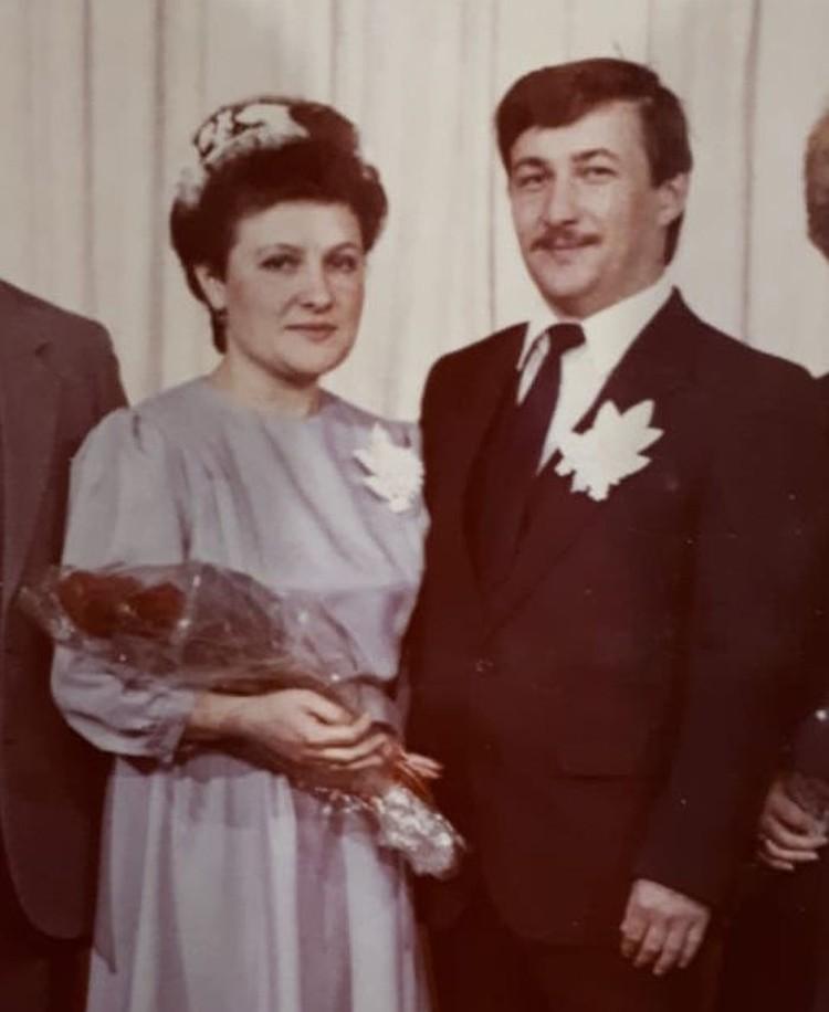 Спустя девять месяцев после авиакатастрофы Александр и Галина поженились. Фото: из личного архива семьи Лукьяновых