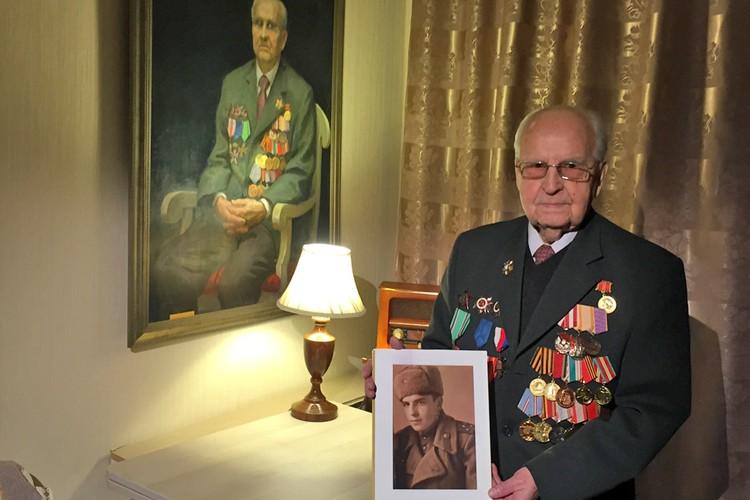 18 января Ивану Степановичу Мартынушкину исполнилось 96 лет.