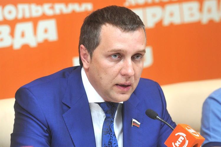 Заместитель председателя комитета Госдумы по транспорту и строительству Александр Старовойтов.