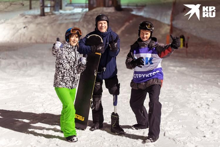 Родные и друзья поддерживают Сергея в занятиях спортом.