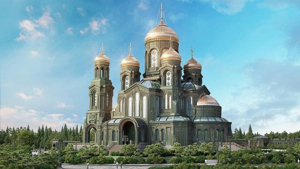 Компьютерный макет будущего храма.