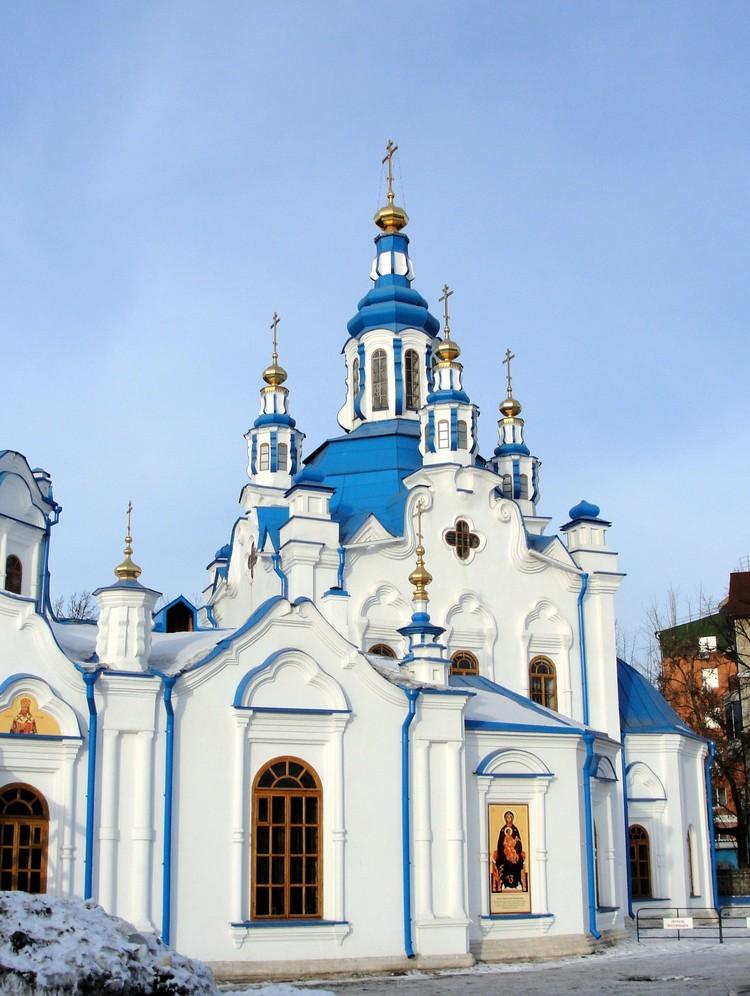 Иди в церковь. Фото: Знаменский кафедральный собор