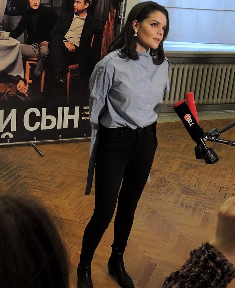 Полина Лазарева — самая молодая представительница знаменитой актерской династии
