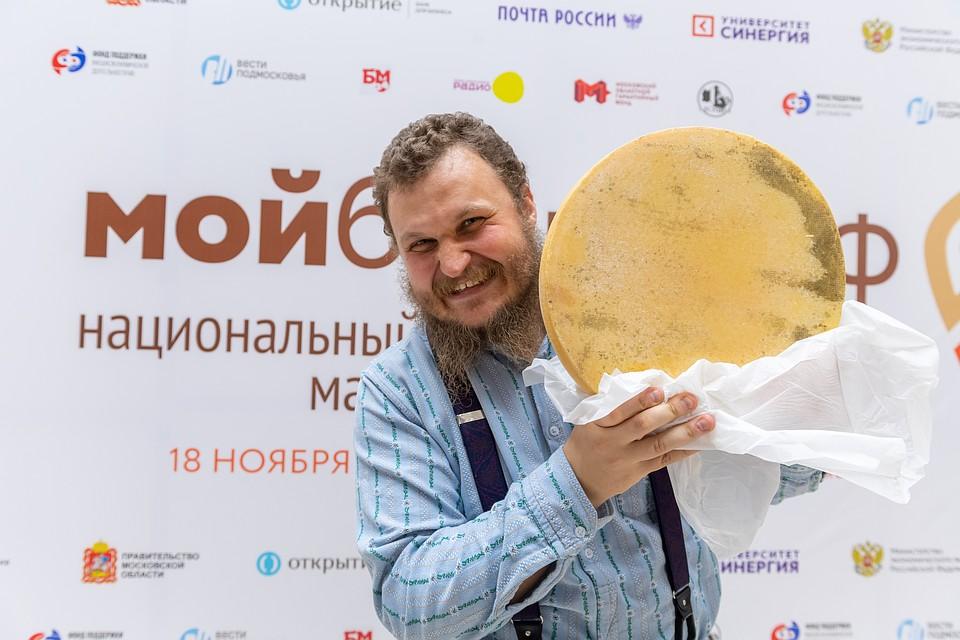 Сыровар Олег Сирота. Фото: Михаил ФРОЛОВ
