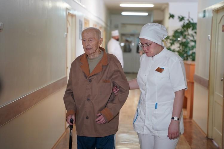 Ветерану Великой Отечественной войны Евгению Александровичу Иванову в мае 2020 года исполнится 95 лет
