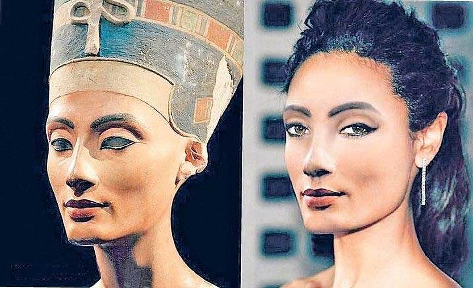 Нефертити. Фото: instagram.com/royalty_now