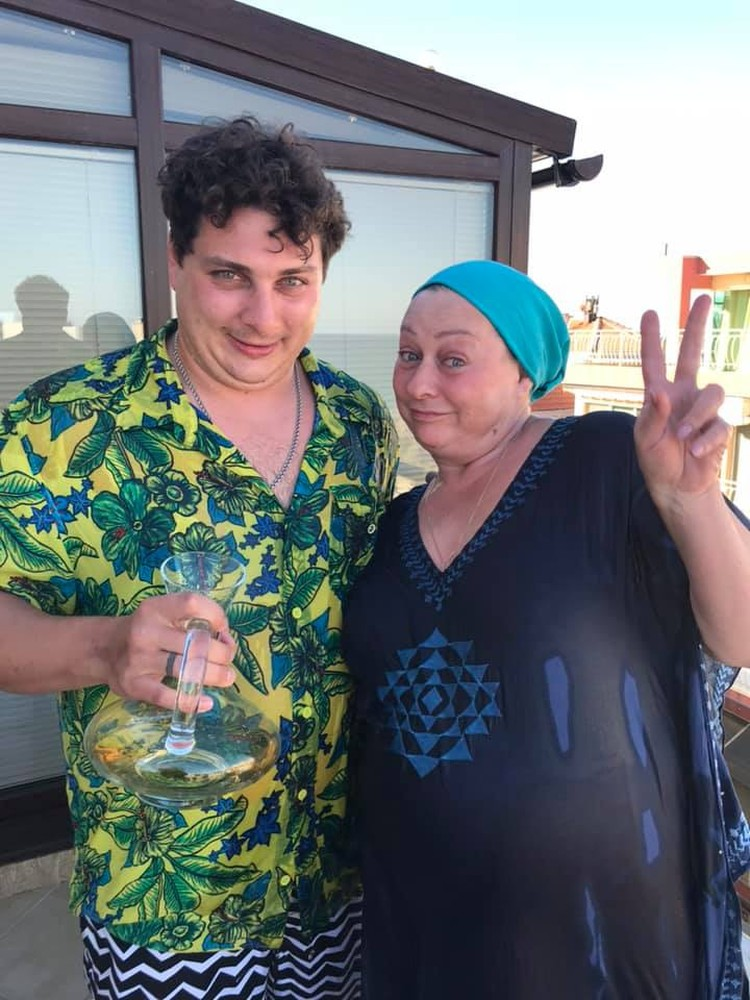 """Аронова мечтает о том, чтобы ее сын встретил """"своего"""" режиссера. Фото: соцсети"""