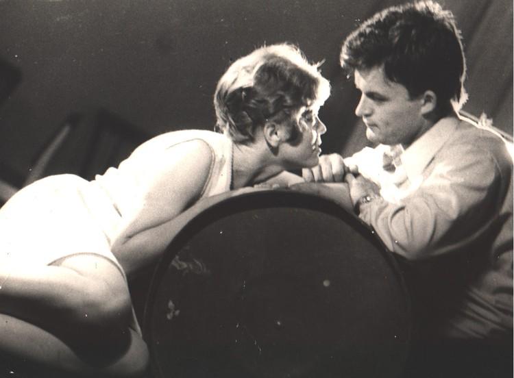 Любовь вспыхнула на спектакле Веры Ефремовой «Лошадь Пржевальского». Ульяновский театр, 1971 год. Фото: из архива Ирины Андриановой
