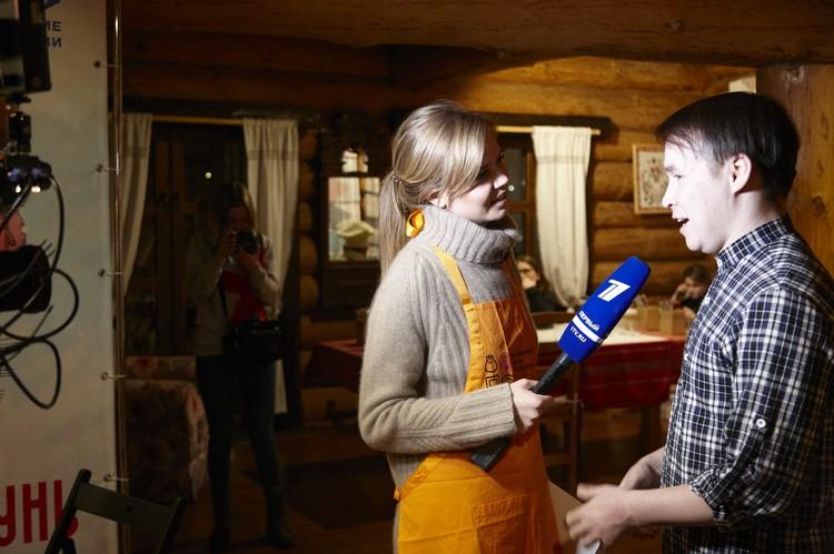 Алла Михеева взяла интервью у автора гимна пельменю