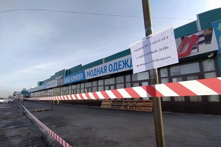 Также, по мессенджерам стали распространяться сообщения о сборе людей в районе барахолки в Алматы.