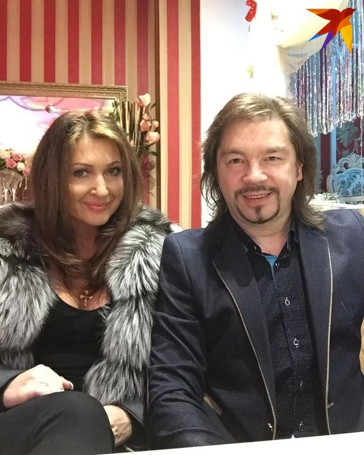 С женой певицей Анжеликой Ютт. Фото: личный архив.