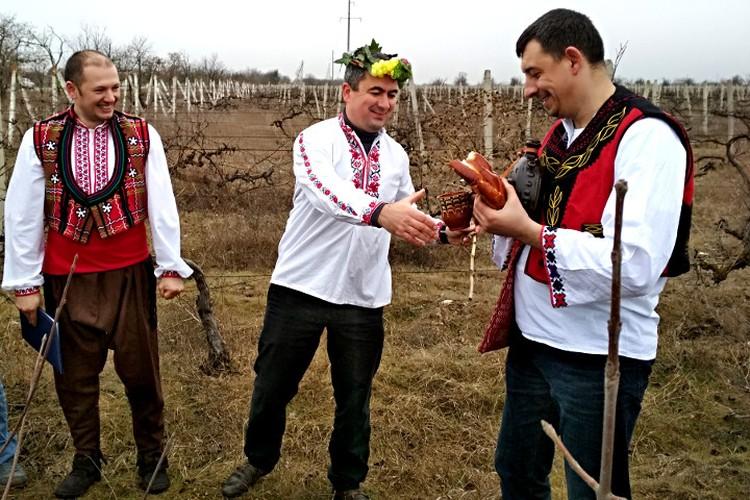 Крымские болгары выбирают Царя вина - самого удачиливого и уважаемого винодела