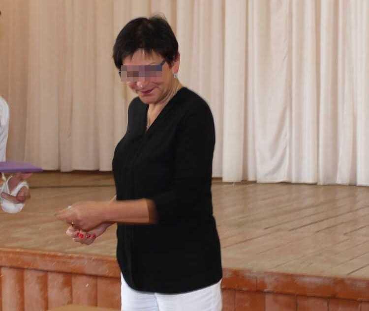Директор школы после скандала ушла на больничный Фото: предоставлено Аделиной