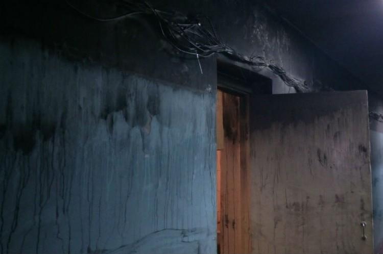 Последствия пожара. Фото: предоставлено Юлией Арсентьевой