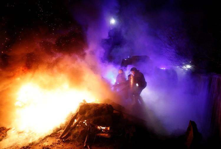 «Теплый» прием вчера устроили украинцы своим соотечественникам