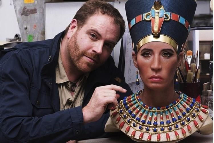 Так могла бы выглядеть Нефертити.