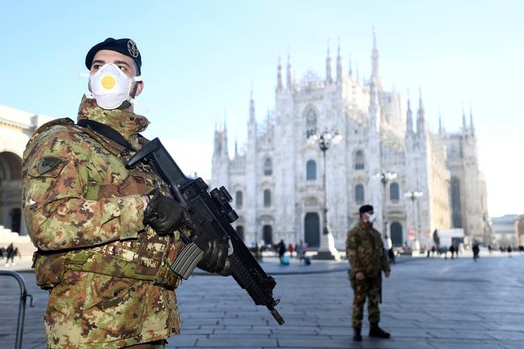 В Милане проводится целый комплекс мероприятий для недопущения распространения опасного коронавируса.