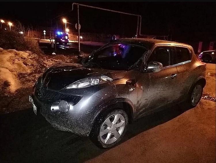Иномарка Мартемьяновой, на которой она сбила девушек. Фото: ГУ МВД по Свердловской области