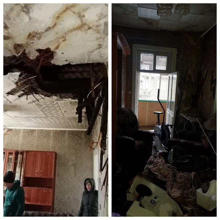 """Не все жильцы решили покинуть квартиры. Фото: читатель """"КП"""""""